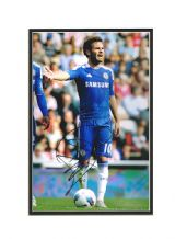 Juan Mata Autograph Signed Photo - Chelsea